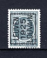 PRE125A MNH** 1925 - LEUVEN 1925 LOUVAIN - Tipo 1922-31 (Houyoux)