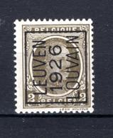 PRE136A MNH** 1926 -LEUVEN 1926 LOUVAIN - Tipo 1922-31 (Houyoux)