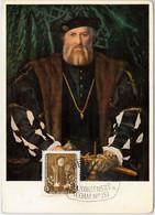 57239  -  GERMANY DDR  - POSTAL HISTORY: MAXIMUM CARD  - John Amos Comenius - Maximumkarten (MC)