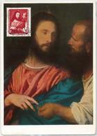 57241  -  GERMANY  DDR  - POSTAL HISTORY: MAXIMUM CARD  -  ART  Tiziano57241 - Maximumkarten (MC)
