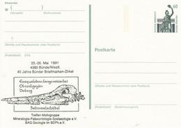 PP 152 Y**  ??  Treffen Motivgruppe Mineralogie-Palaeontolie-Spelaelogie E.V. - Privatpostkarten - Ungebraucht
