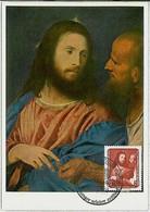 32690  -  GERMANY  DDR  - POSTAL HISTORY: MAXIMUM CARD  -  ART  Tiziano 1957 - Maximumkarten (MC)