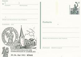 PP 152 Y  ??  Hauptversammlung  Der Sammlergilde St. Gabriel E.V.,  25-26. Mai 1991 Bünde - Privatpostkarten - Ungebraucht