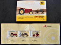 """Bund/BRD August 2021 Markenheftchen 122 """"Für Die Jugend - Historische Traktoren"""", MiNr 3618-3620,  Gestempelt - Usati"""
