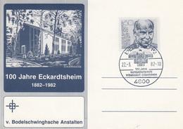 PSo ??  1oo Jahre Eckardtsheim 1882-1982 -v. Bodelschwinghsche Anstalten, Bielefeld 12 - Privatpostkarten - Gebraucht