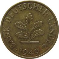 LaZooRo: Germany 10 Pfennig 1949 G XF - 10 Pfennig