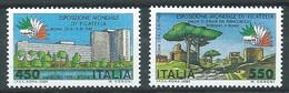 Italie YT N°1615/1616 Exposition Philatélique Mondiale Italia 85 Rome Neuf ** - 1981-90:  Nuovi