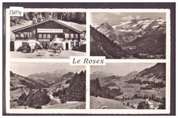 DISTRICT D'AIGLE - LE SEPEY - RESTAURANT DU ROSEX - TB - VD Vaud