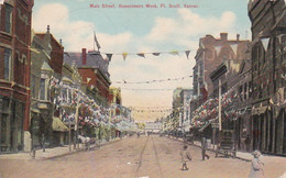 3817162Main Street Homecomers Week (postmark 1910)(see Corners, Sides, Bottom) - Andere