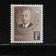 Dominica 1951 KG VI MNH - Dominica (...-1978)
