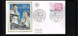 Famous People - Nobel Prize Winners - Frederic Et Joliot Curie - FDC Mi. 2347 France 1982 [P08_150] - Nobelprijs