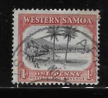 Samoa 1935 View Of Apia 1p Used - Samoa
