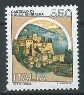 Italie YT N°1603 Château De Rocca Sinibalda Neuf ** - 1981-90:  Nuovi