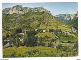 48 Le Village Du ROZIER Vers Meyrueis N°8057 Au Confluent Des Gorges Du Tarn Et De La Jonte Camping En 1970 - Meyrueis