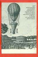 G1 .-MANTOVA- 150° ASCENSIONE AEROSTATICA- BORSE E SALONI COLLEZIONISMO---MARCOFILIA- - Globos
