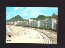 CARTOLINA - BRASIL  -  RIO DE JANEIRO - COPACABANA  PLAYA  LEME   BEACH - Copacabana