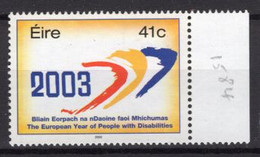 2003 - IRLANDA - EIRE - IRELAND - Mi. 1501 - MNH - (PG039...) - Nuovi