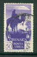 CYRENAIQUE- P.A Y&T N°6- Oblitéré - Cirenaica