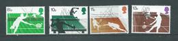 Grande - Bretagne  Série Yvert N° 817 /  820 **  4 Valeurs Neuves Sans Charnière - Abc 32507 - Unused Stamps