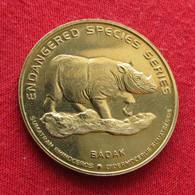 Malaysia 25 Sen 2003 Rhinoceros - Malaysia