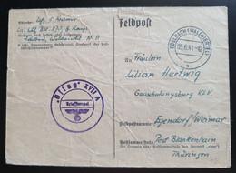 Deutsches Reich FELDPOST 1941, Postkarte EDELBACH(WALDVIERTEL) - Covers & Documents
