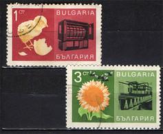 BULGARIA - 1967 - AGRICOLTURA IN BULGARIA - USATI - Gebraucht