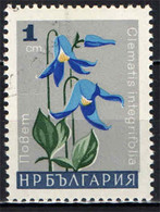BULGARIA - 1966 - FIORE: CLEMATIS - FLOWER - USATO - Gebraucht