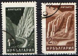 BULGARIA - 1964 - VRATCATA - RITLITE - MONTAGNE - USATI - Gebraucht