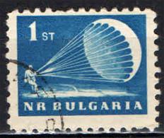 BULGARIA - 1963 - PARACADUTISTA - USATO - Gebraucht