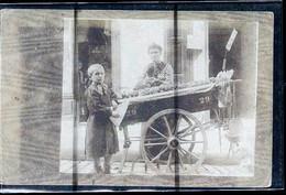 PARIS VENDEUSE DE POMMES DE TERRE   PHOTO CARTE 1900 - Artigianato Di Parigi