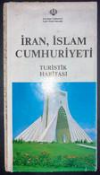 Iran Touristic Map - Turkish Edition Early 1980's - Carte Stradali