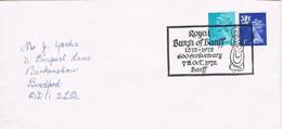 41993. Carta BANFF (Alberdeenshire) England 1972. ROYAL BURG Of BANFF, 600 Anniversay - Covers & Documents