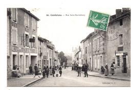 Confolens. Rue Saint-Barthelemy. - Confolens