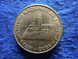 CUBA 1 PESO 1981, KM421 - Cuba