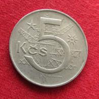 Czechoslovakia 5 Korun 1980 KM# 60  Tchecoslovaquie Checoslovaquia Cecoslovacchia Tchèque Et  Slovaque - Czechoslovakia