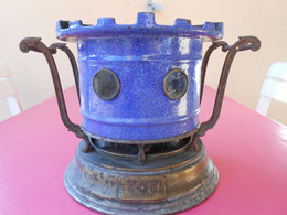 Ancien Fourneau Besnard Bleu - Réchaud - Arte Popolare
