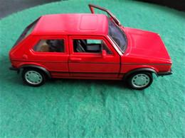 Voiture Miniature Collection Welly ,1/39 - 1/43, Métal,volkswagen Golf Gti, 11 Cm Emballée - Other