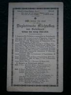 BP Diepbetreurde Slachtoffers Van Dickebusch ( Dikkebus ) Tijdens De Oorlog 1914-1918 UNIEK !!!!! (Ieper - Yper - Ypres) - Religión & Esoterismo