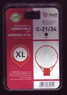 Cartouche D'encre - Inkees - Canon-c21-24 Compatible BCI-21/24 (emballage Scéllé) - Altri