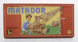 Costruzioni Korbuly Matador N. 1 A - Scatola Completa Con Opuscolo C Istruzioni - Altri
