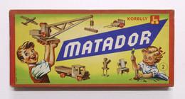Costruzioni Korbuly Matador N. 2 - Scatola Completa Con Opuscolo D Istruzioni - Altri