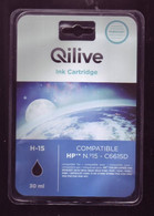Cartouche D'encre - Qilive H-15 / Compatible HP N°15 - C6615D (emballage Scéllé) - Altri