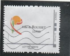 MONTIMBRAMOI VILLE DE ROUSSET 13790 BOUCHE DU RHONE OBLITERE - Gepersonaliseerde Postzegels (MonTimbraMoi)