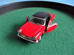 Voiture Miniature Collection Welly ,1/39 - 1/43, Métal, Peugeot 404 Cabriolet, 11 Cm Emballée - Other