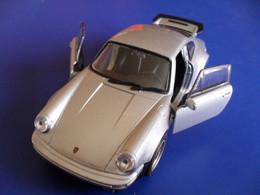 Voiture Miniature Collection Welly ,1/39 - 1/43, Métal, Porsche 911 Turbo , 11 Cm Emballée - Other
