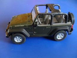 Voiture Miniature Collection Welly ,1/39 - 1/43, Jeep Wrangler , 11 Cm Emballée - Other