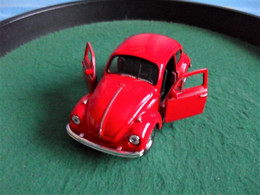 Voiture Miniature Collection Welly ,1/39 - 1/43, Volkswagen Beetle Coccinelle, 11 Cm Emballée - Other