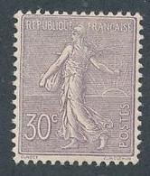 ED-202: FRANCE: Lot Avec N°133* - 1903-60 Semeuse Lignée