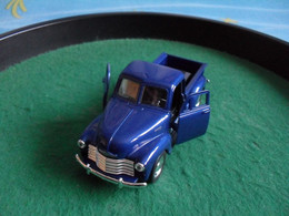 Voiture Miniature Collection Welly ,1/39 - 1/43, Chevrolet Pick-up 1953, 11,5 Cm Emballée - Other