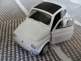 Voiture Miniature Collection Welly ,1/34-1/39, Fiat Nuova 500 , 10,5 Cm Emballée - Other